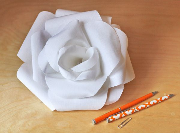 How to make a fabric rose | How About Orange