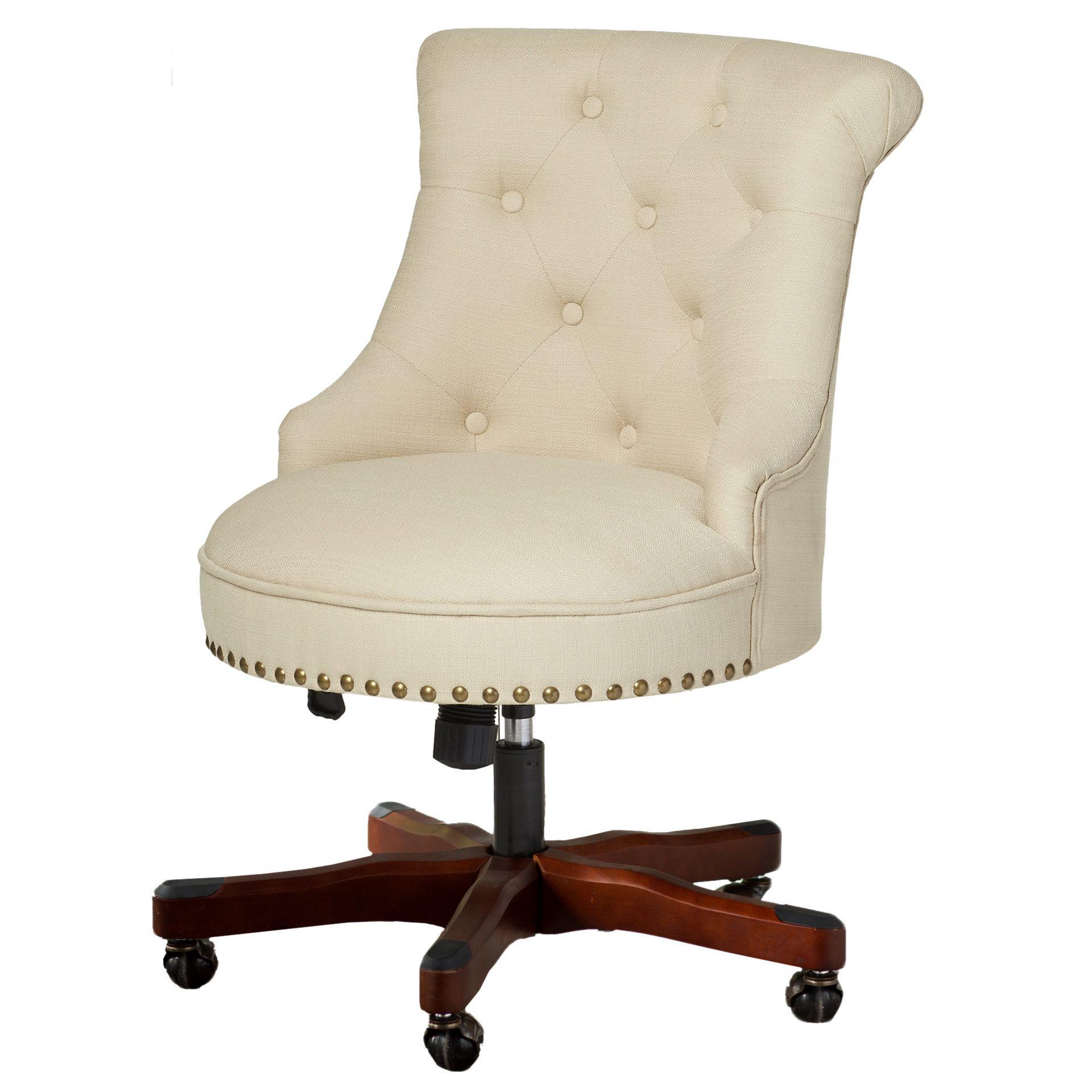 Eckard Desk Chair cream fice Chairs Pinterest