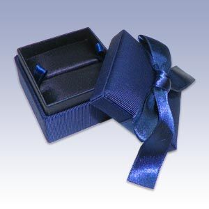 Dark Blue Bow Ring Box - Wholesale jewelry boxes jewelry gift boxes jewelry boxes & Dark Blue Bow Ring Box - Wholesale jewelry boxes jewelry gift ... Aboutintivar.Com