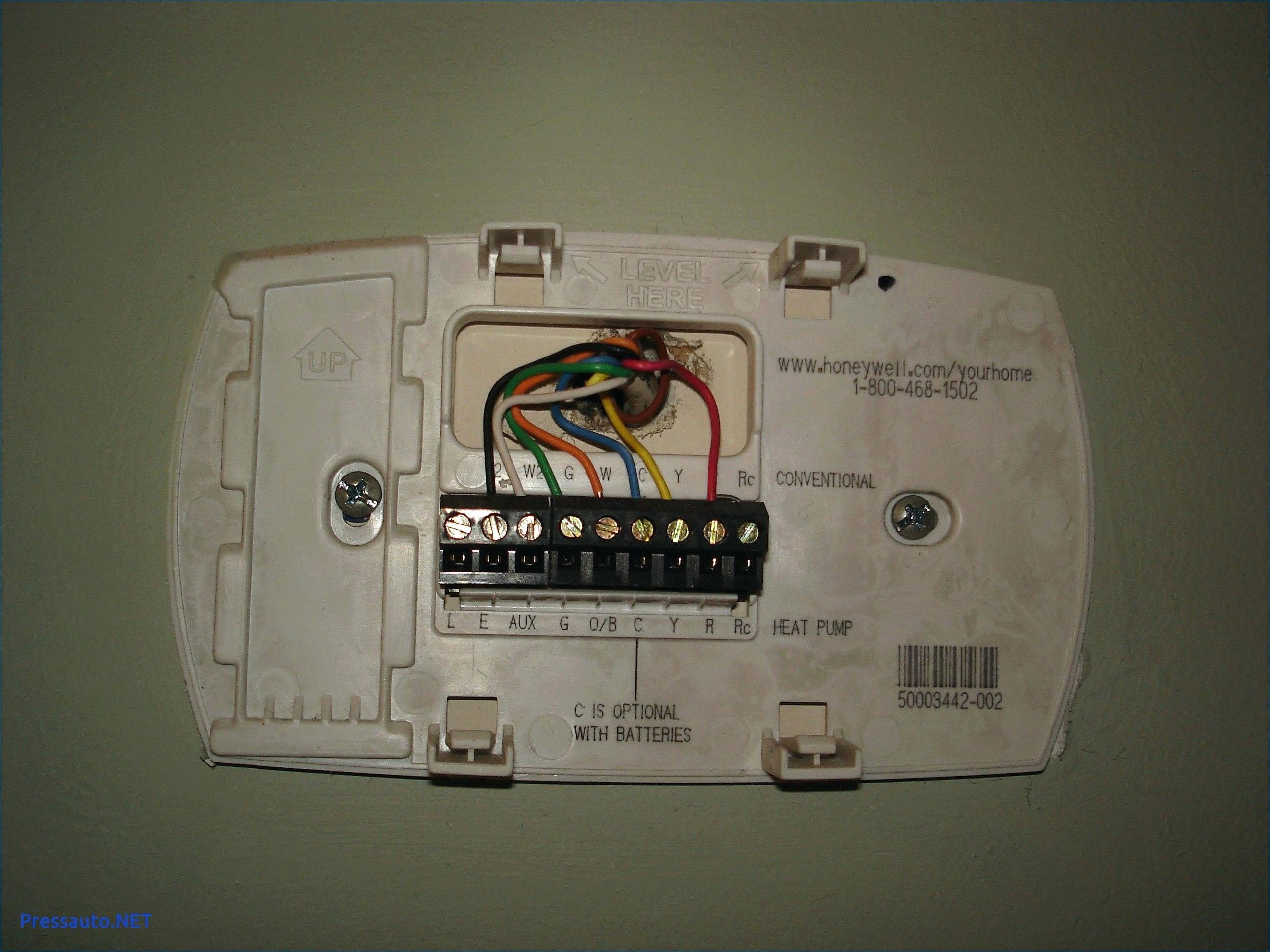 Unique Wiring Diagram For Honeywell Thermostat Rth2300b Diagram