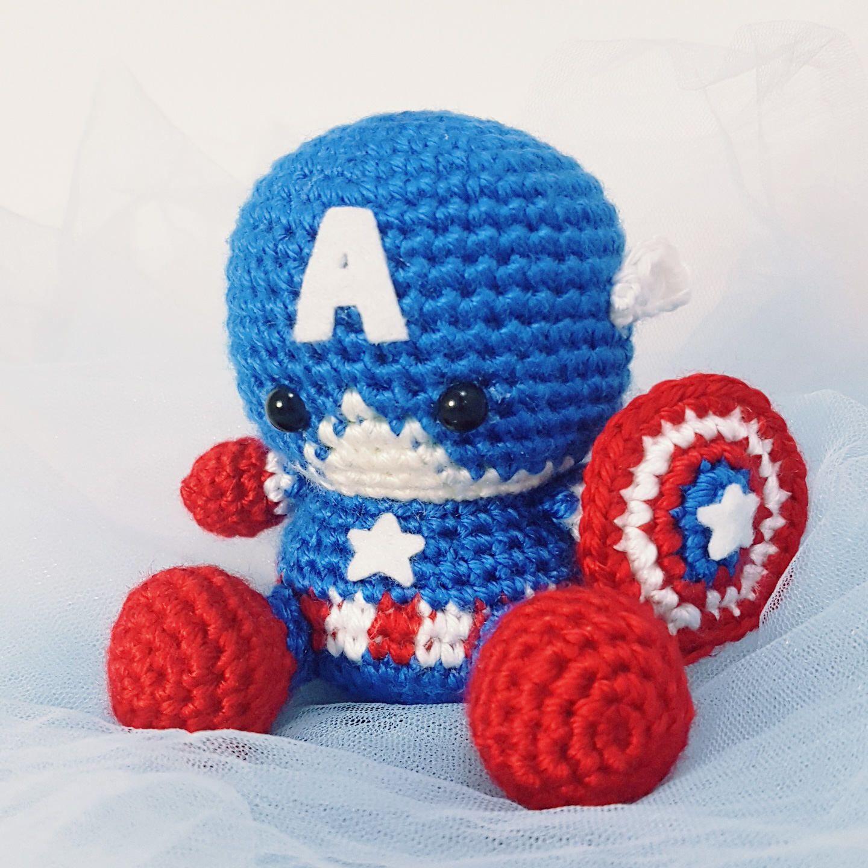 PATTERN: Baby Captain America by MarvelsCo on Etsy https://www.etsy ...