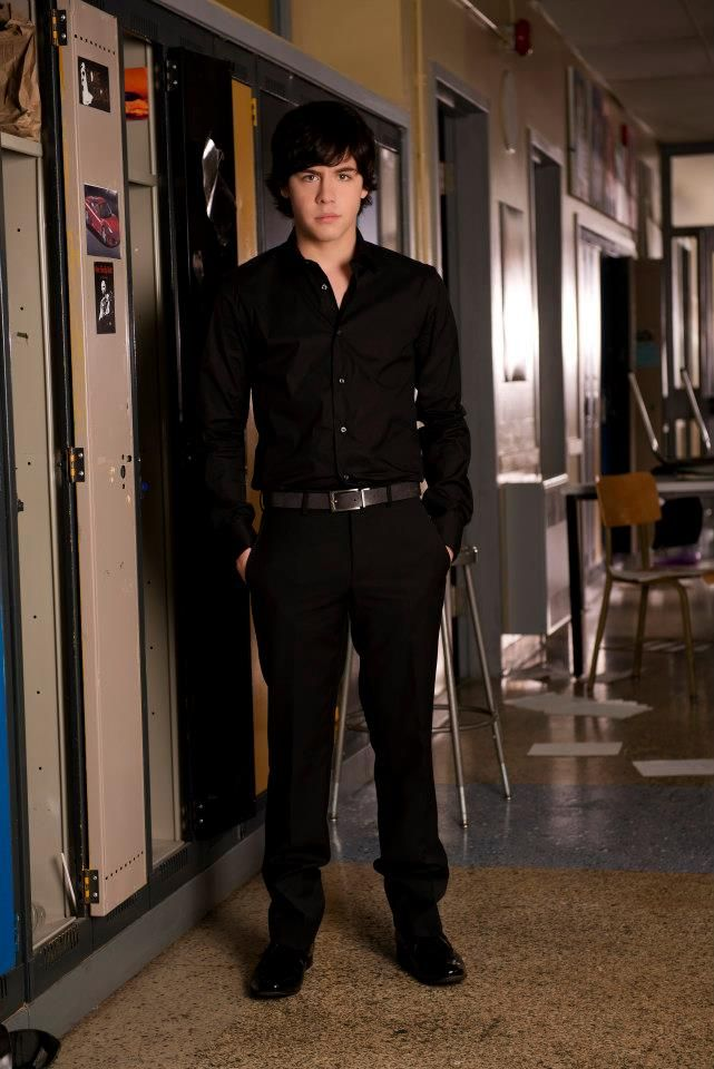 Munro Chambers as (Eli) #DegrassiSeason12