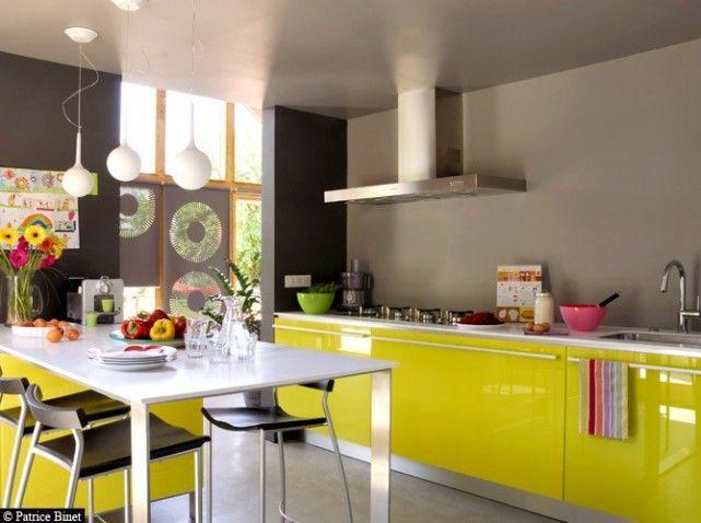 meubles cuisine jaune | dreamhouse | pinterest | cuisine jaune