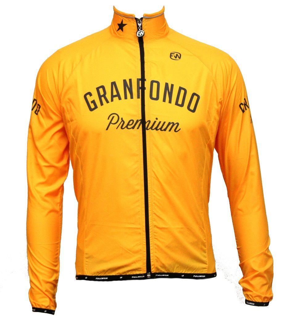 Capa para Chuva Granfondo Premium Amarela Raincoat Granfondo Premium ... 64d6d29b79