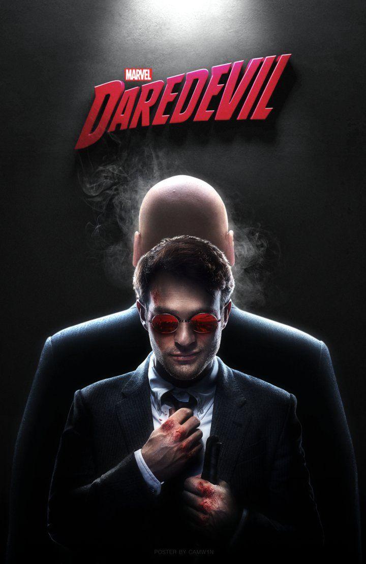 Daredevil (2015) - TV Poster by CAMW1N on DeviantArt