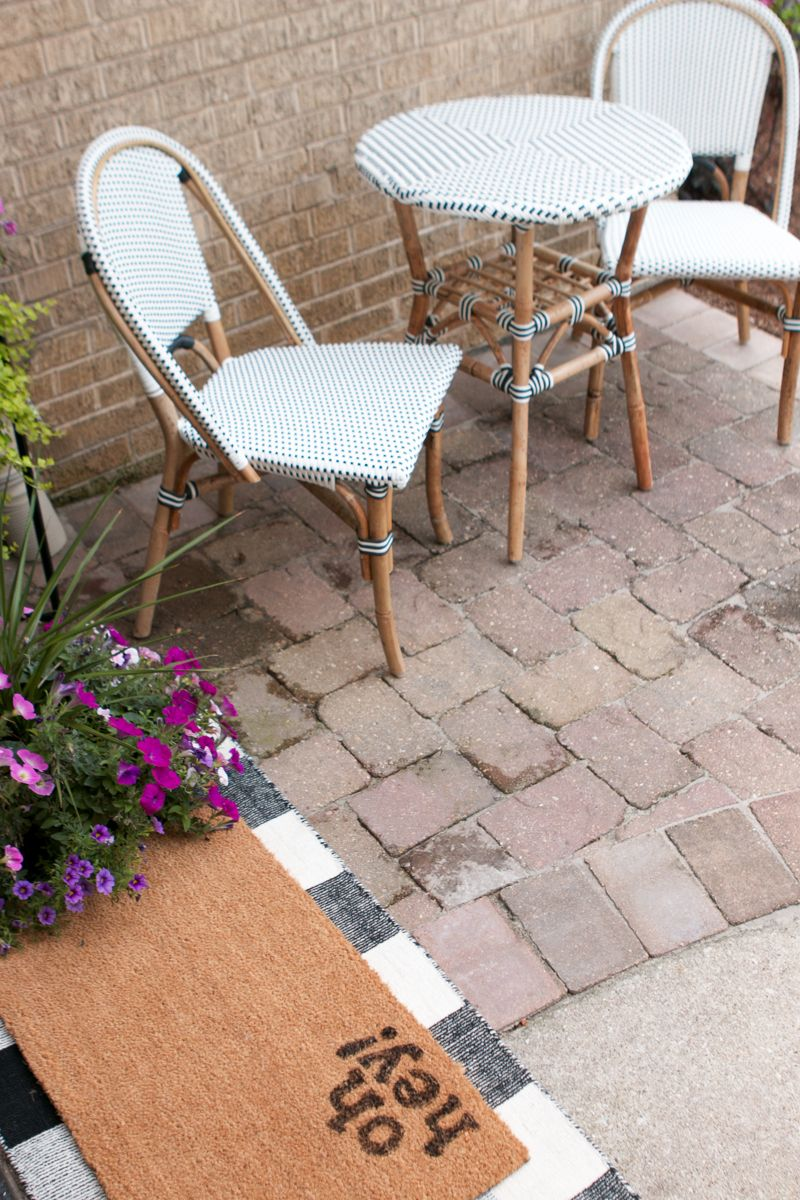 A Small Outdoor Furniture Set For A Fraction Of The Cost Outdoor