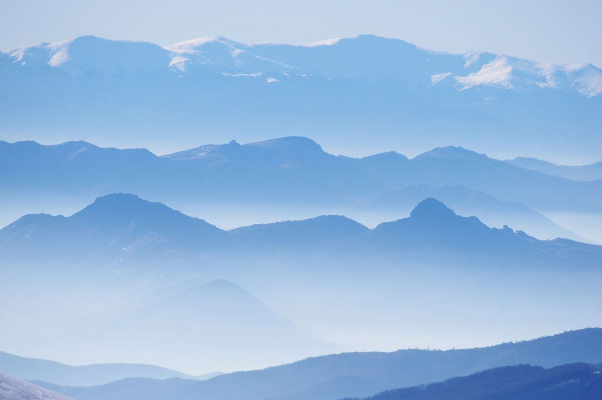 Picture Of The Day Mountain Gradients Landscape Art Pictures World Of Color