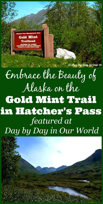 Exploring Gold Mint Trail at Hatcher's Pass Alaska