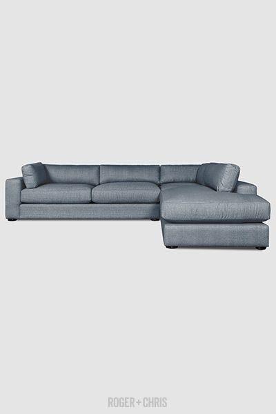 stain proof sofa fabric living room navy blue chad sectional in chartres storm furniture