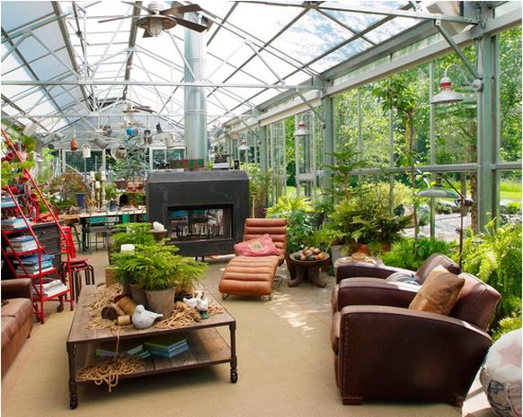 Beautiful Sunroom Greenhouse Designs