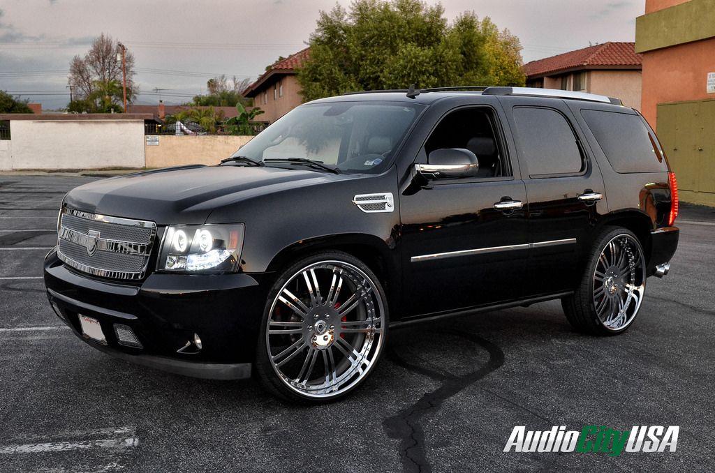 Chevrolet Tahoe Custom Wheels Asanti Af 128 28x Et Tire Size