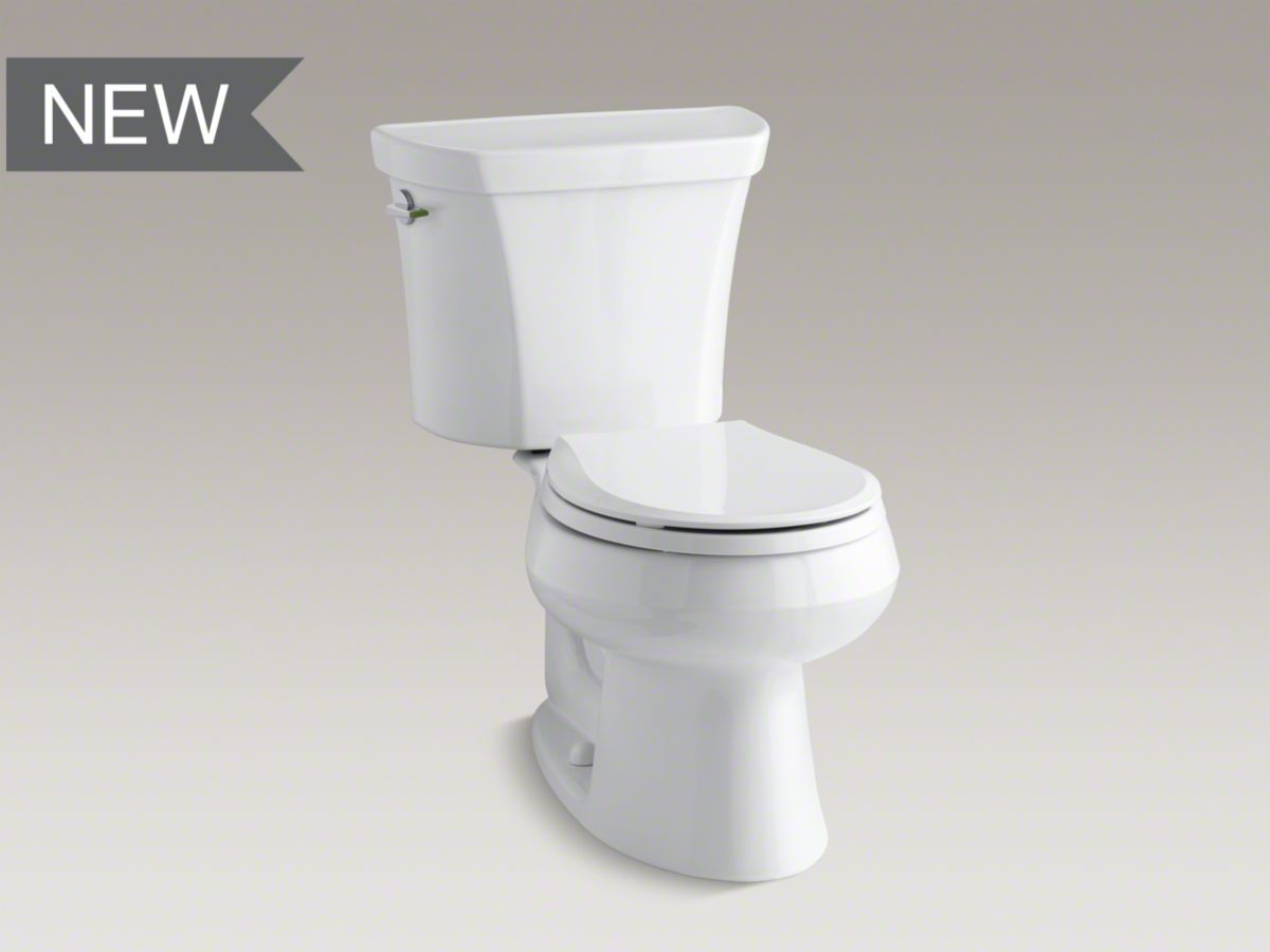 K 3987 Wellworth Dual Flush Round Front Toilet Kohler Dual Flush Toilet Kohler Toilet