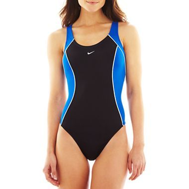 013ecc5109 Nike® Fastback Tank One-Piece Swimsuit - jcpenney Swimsuit Cover Ups, One  Piece