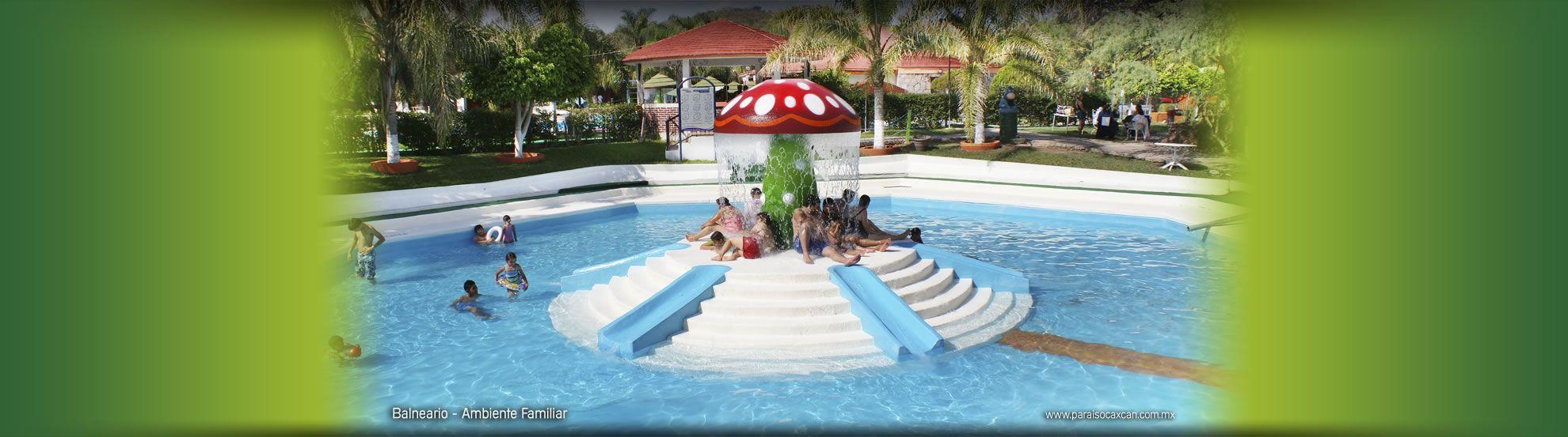 Balneario Paraiso Caxcan In My Home Town San Miguel Apozol