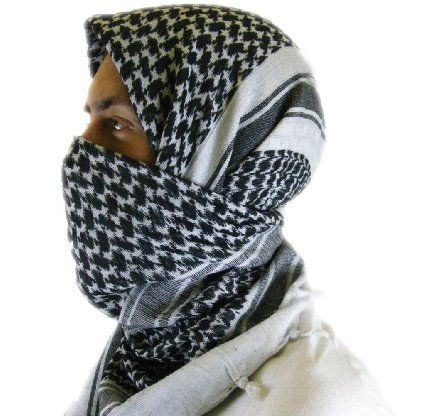 Mato /& Hash Military Shemagh Tactical 100/% Cotton Scarf Head Wrap
