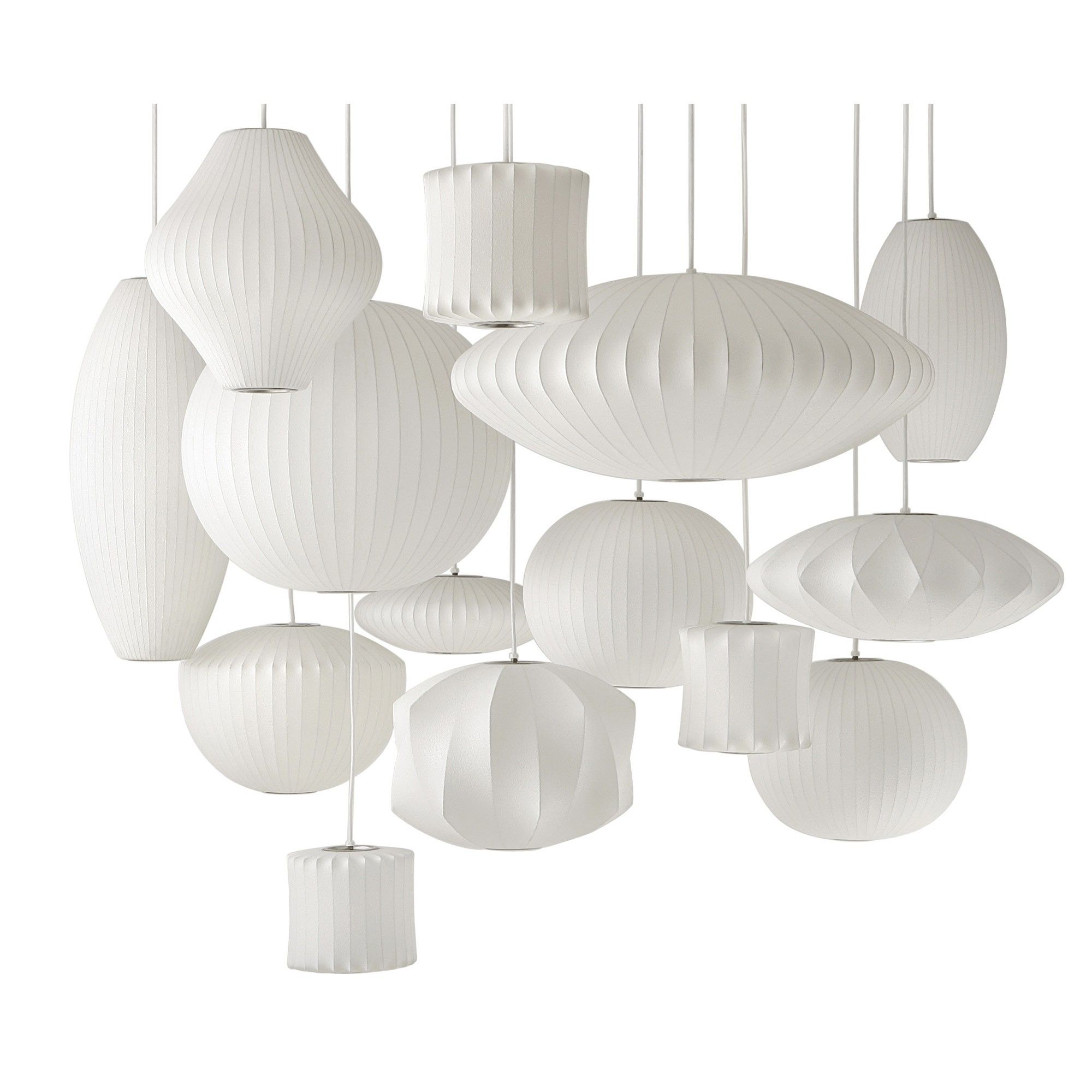 George Nelson pendant lamps