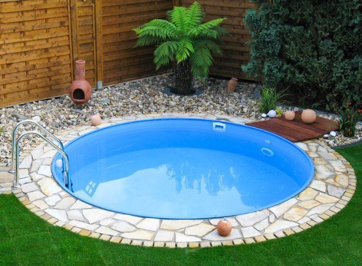 Pool Rundpool Garten Swimmingpool Schwimmbecken Planschbecken Garden Rundbecken Hom Kleine Hinterhof Pools Gartenpools Pool Fur Kleinen Garten