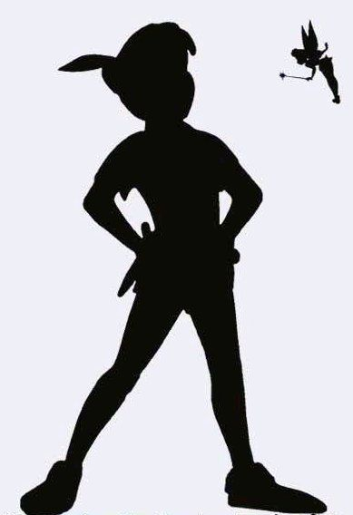 Peter Pan Stance Peter Pan Silhouette Peter Pan Shadow Fairy Silhouette