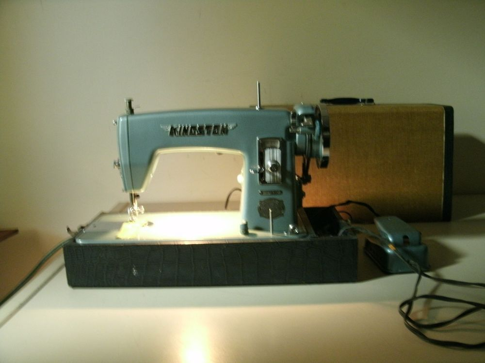 Deluxe Precision Sewing Machine Kingston Window Matic HA40B40 Brother Cool 1950 Brother Sewing Machine