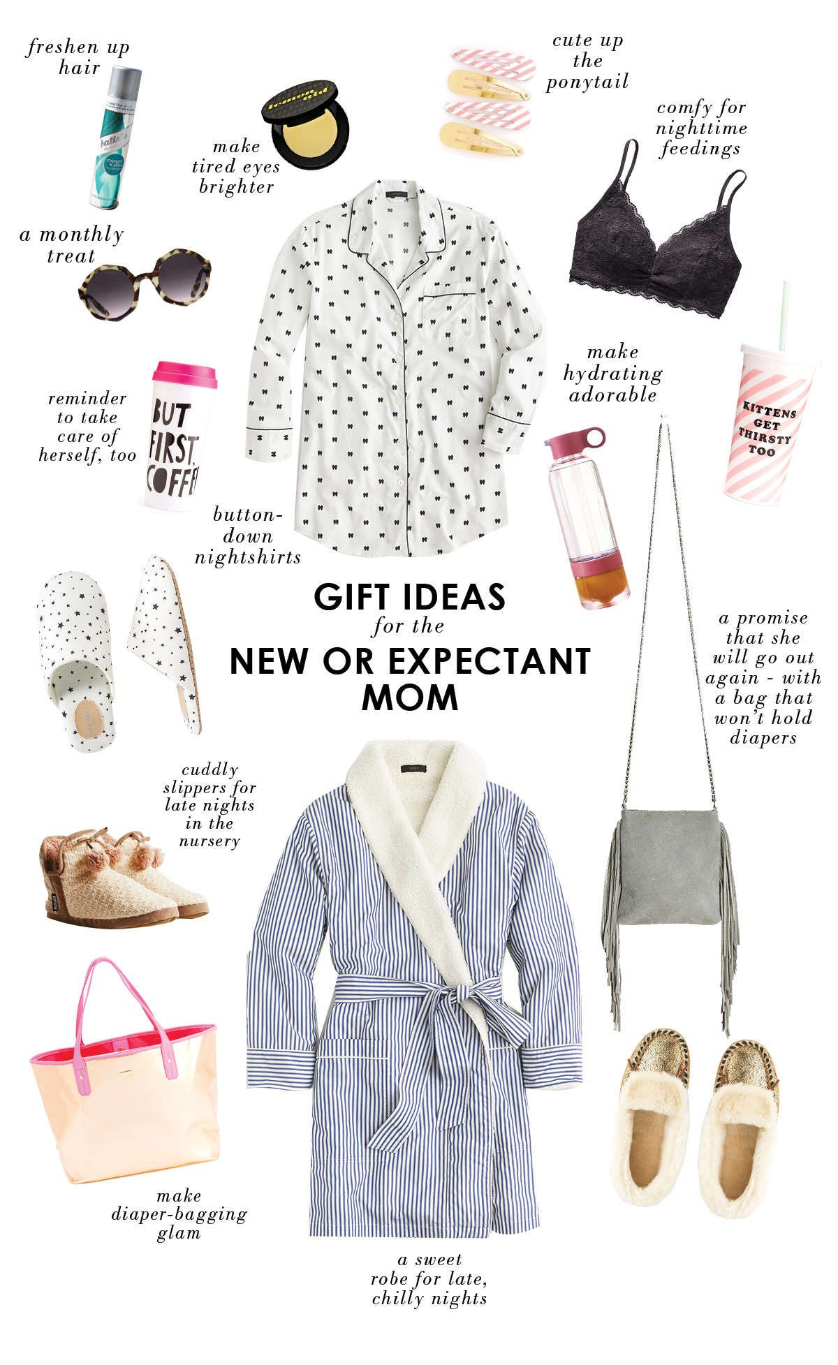 Gift Ideas For A New Or Expectant Mom Expecting Mom Gifts