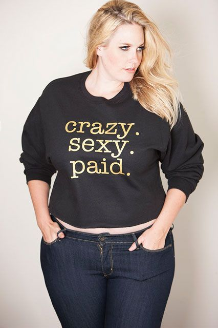 Sexy trendy plus size clothing in boutiques