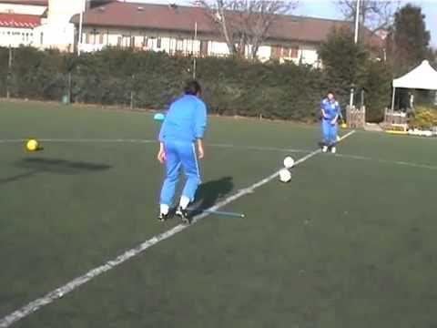 Ejercicios En Circuito Y Coordinacion : Ejercicios de coordinacion con balon y escalera futbol