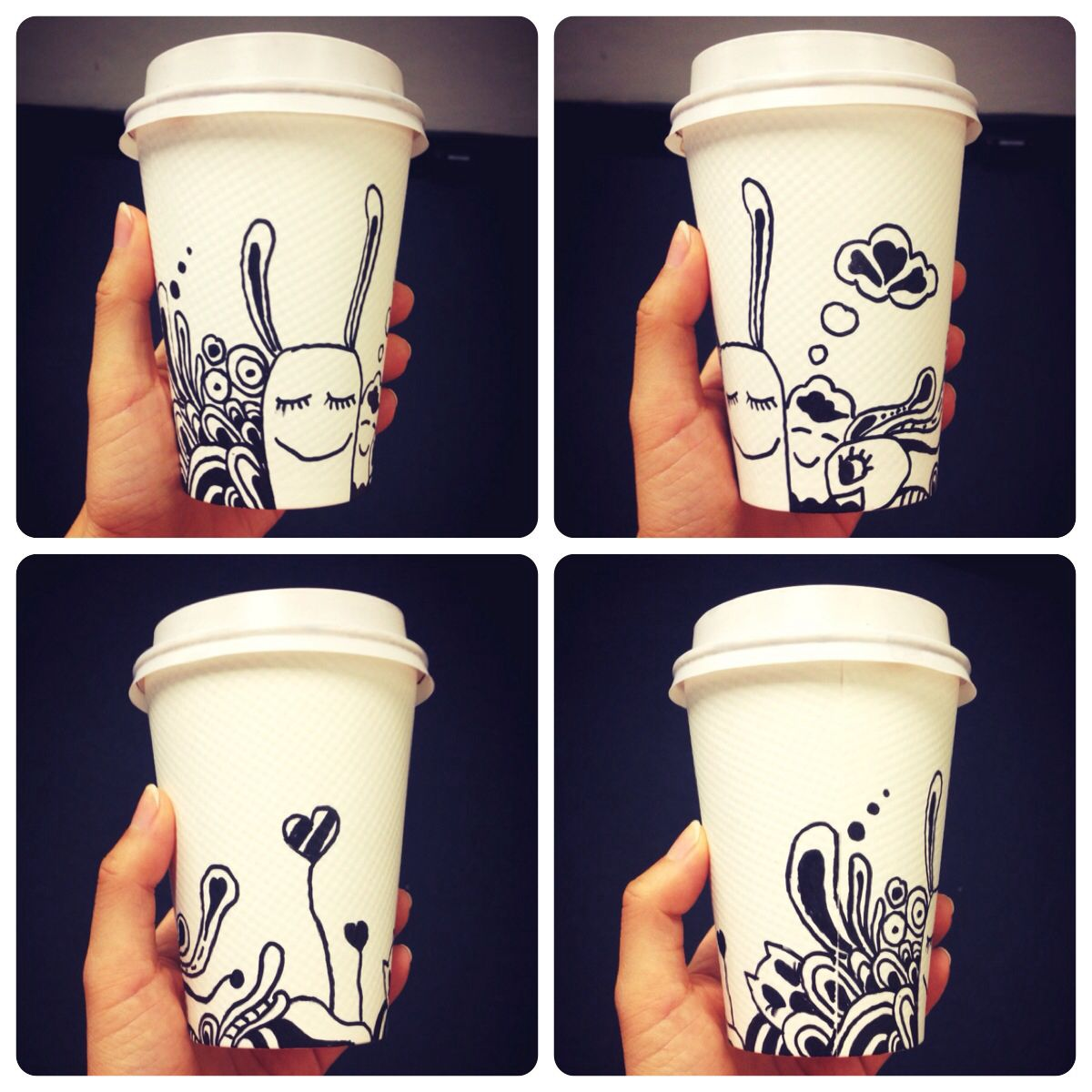 eab02219e38 Coffee cup drawing. Coffee cup doodle. By Norah www.norah.com.au ...