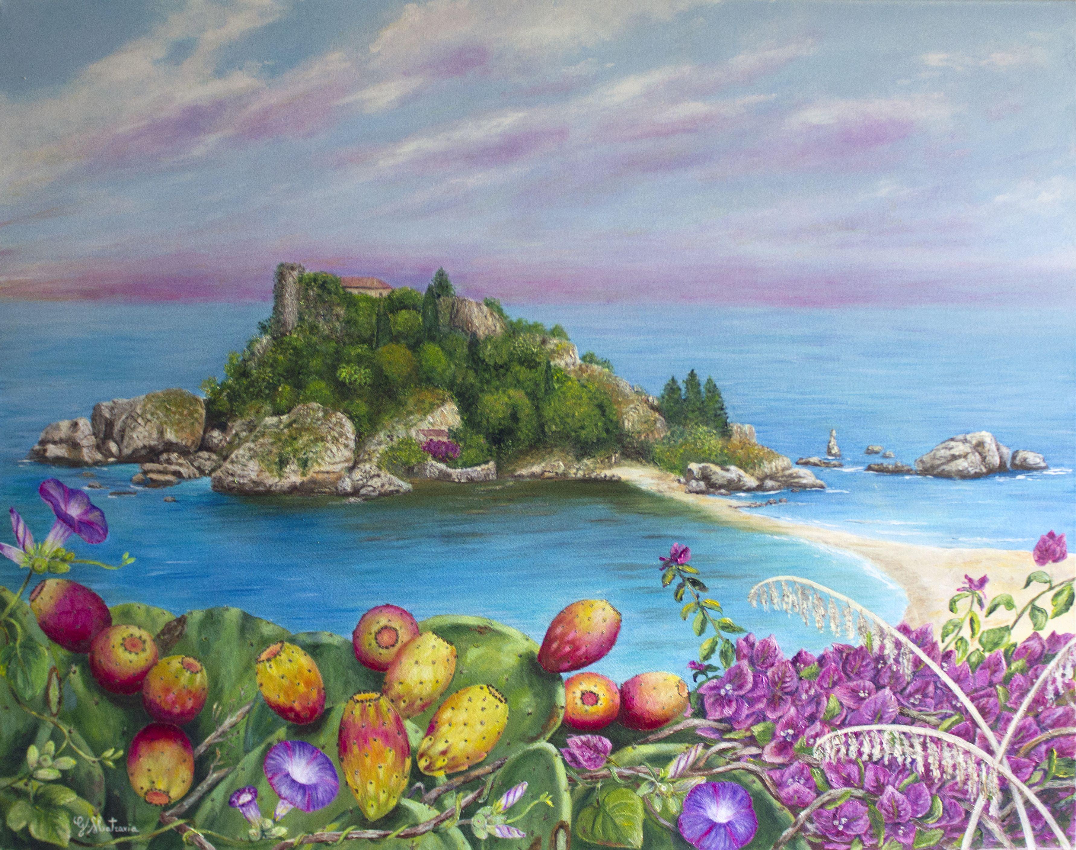 Isola Bella di Taormina -sicilia
