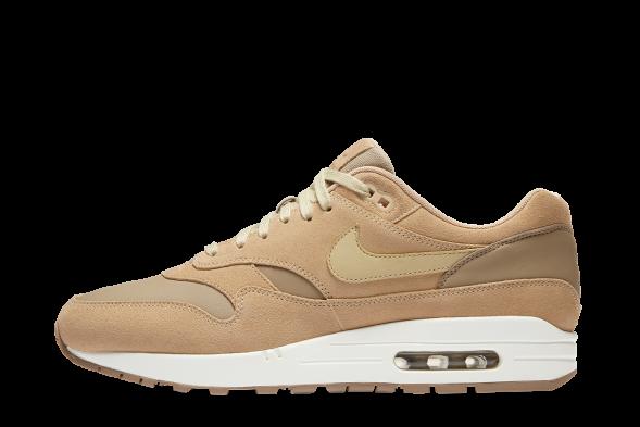 Nike Air Max 1 Premium Leather Tan   AH9902 201