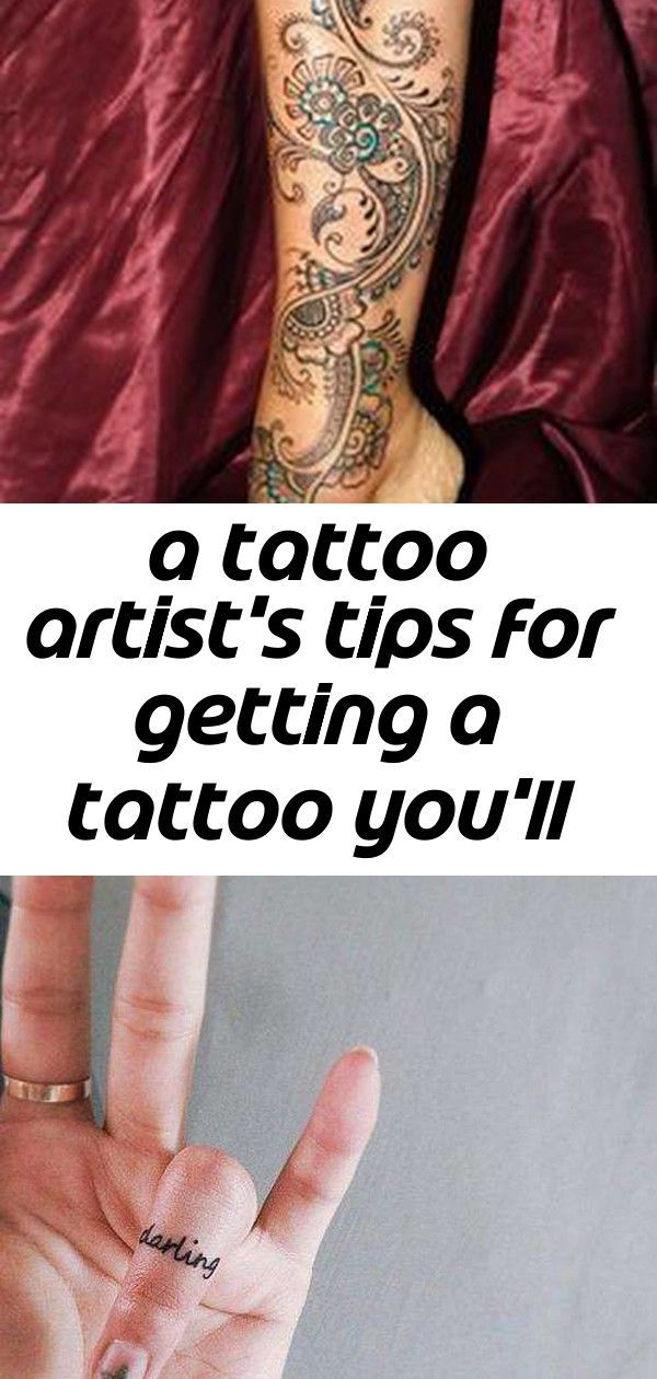 A tattoo artist's tips for getting a tattoo you'll love forever 2 A tattoo artist's tips for getting a tattoo you'll love forever 2 Cynthia Clark ccla…
