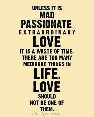 love should be extra-ordinary