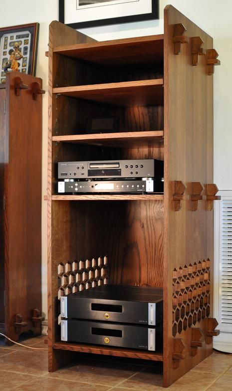 Srq Woodworks Co Craftsman Stereo Cabinet