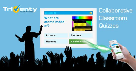 Triventy Collaborative Classroom Quizzes  Surveys Creativity +