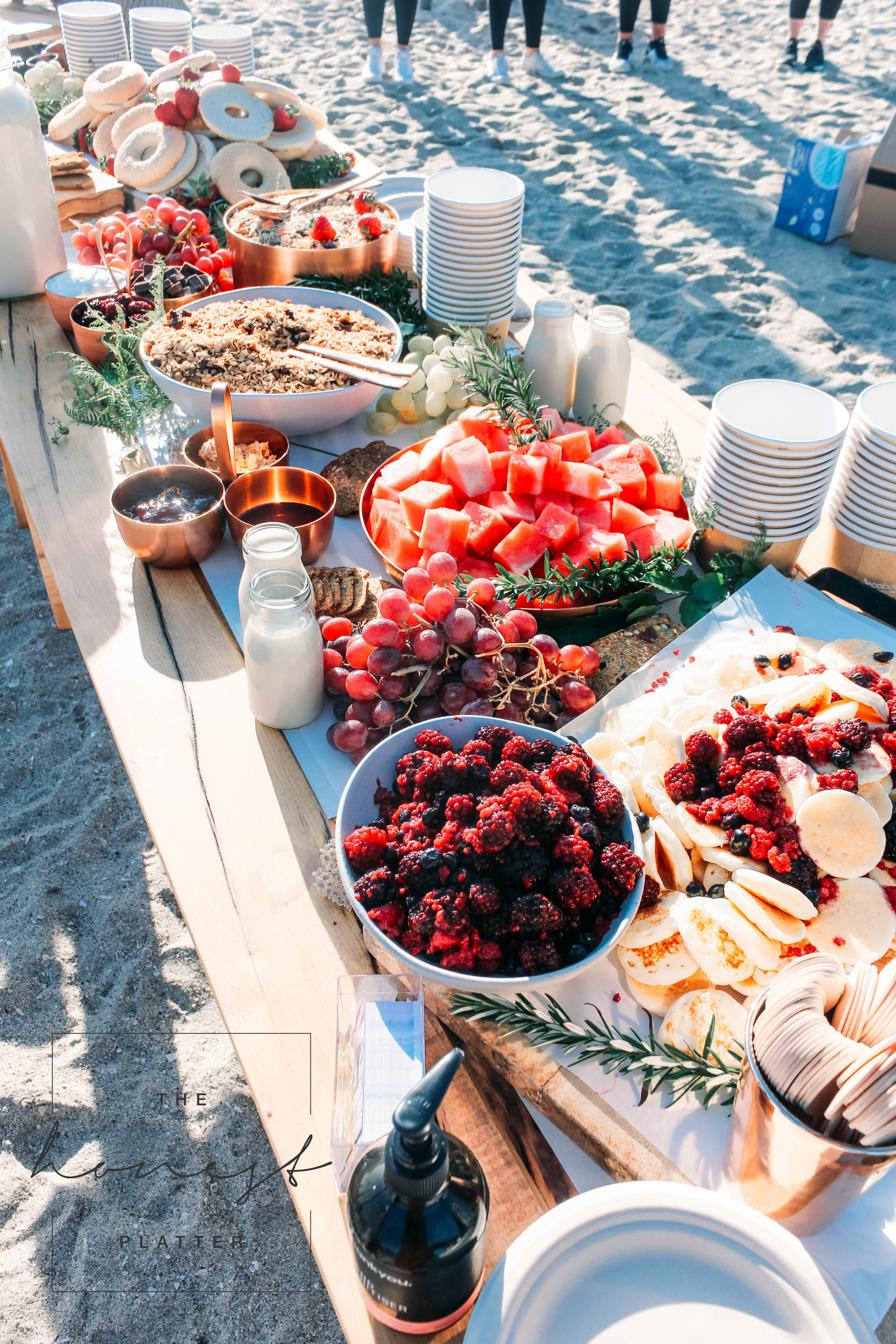 The Honest Platter Grazing Tables Platters Bay Of Plenty Coromandel Nz Grazing Tables Platters Beach Meals