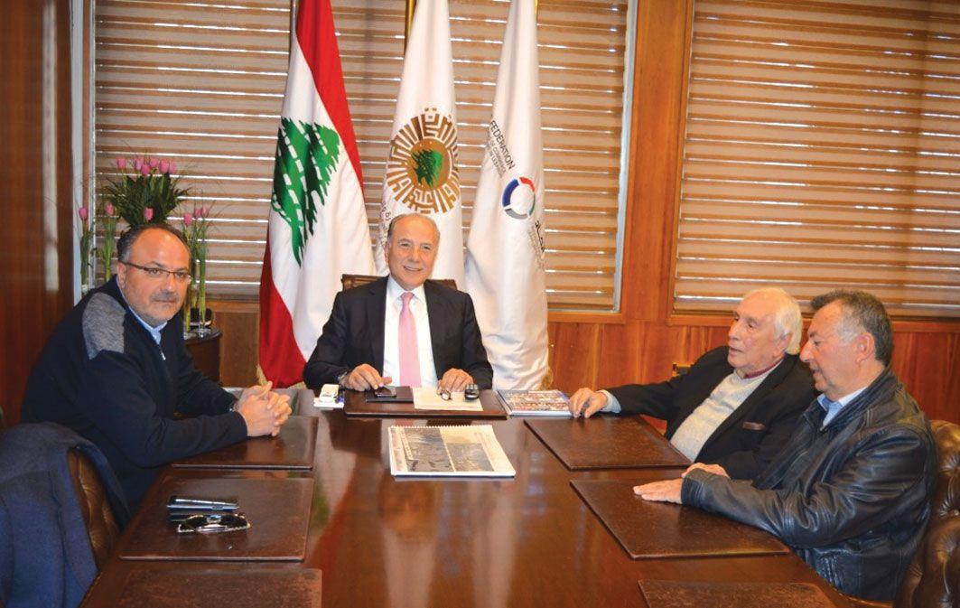 هيئة مكتب غرفة طرابلس والشمال تأييد كامل لخيارات الرئيس دبوسي في تطوير بيئة