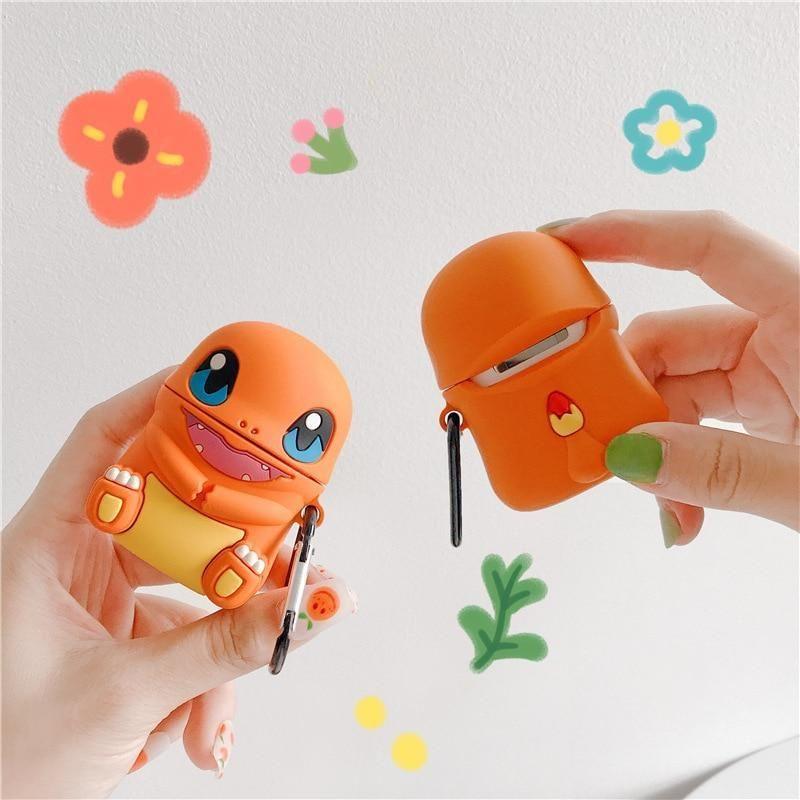 Cute 3D Silicone Pokémon Pikachu AirPod Case in 2020