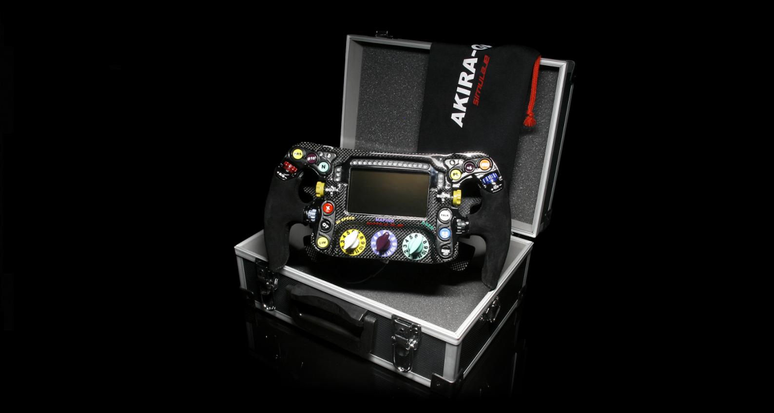Akira GP - steering wheel Simracing replica F1  magnetic paddle