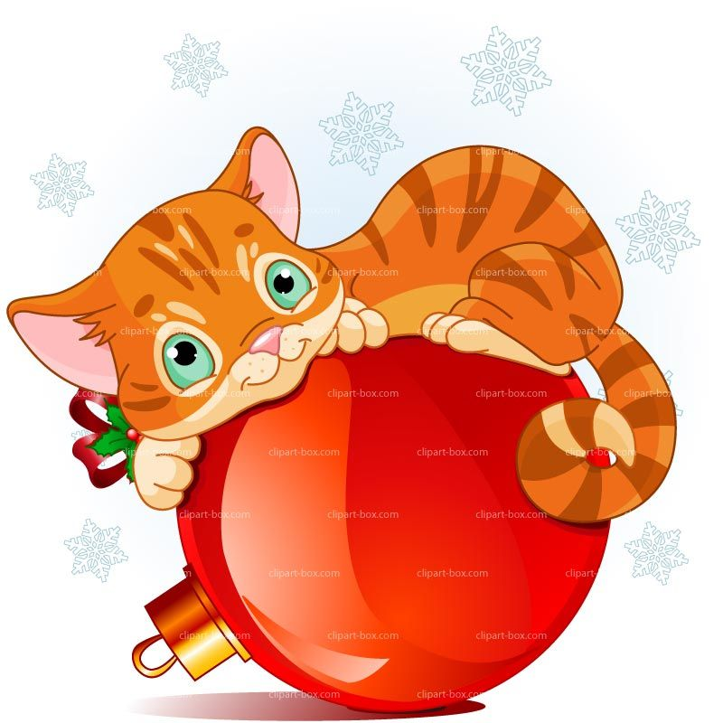 clipart christmas cat royalty free vector design christmas rh pinterest co uk christmas cat clipart free cute christmas cat clipart
