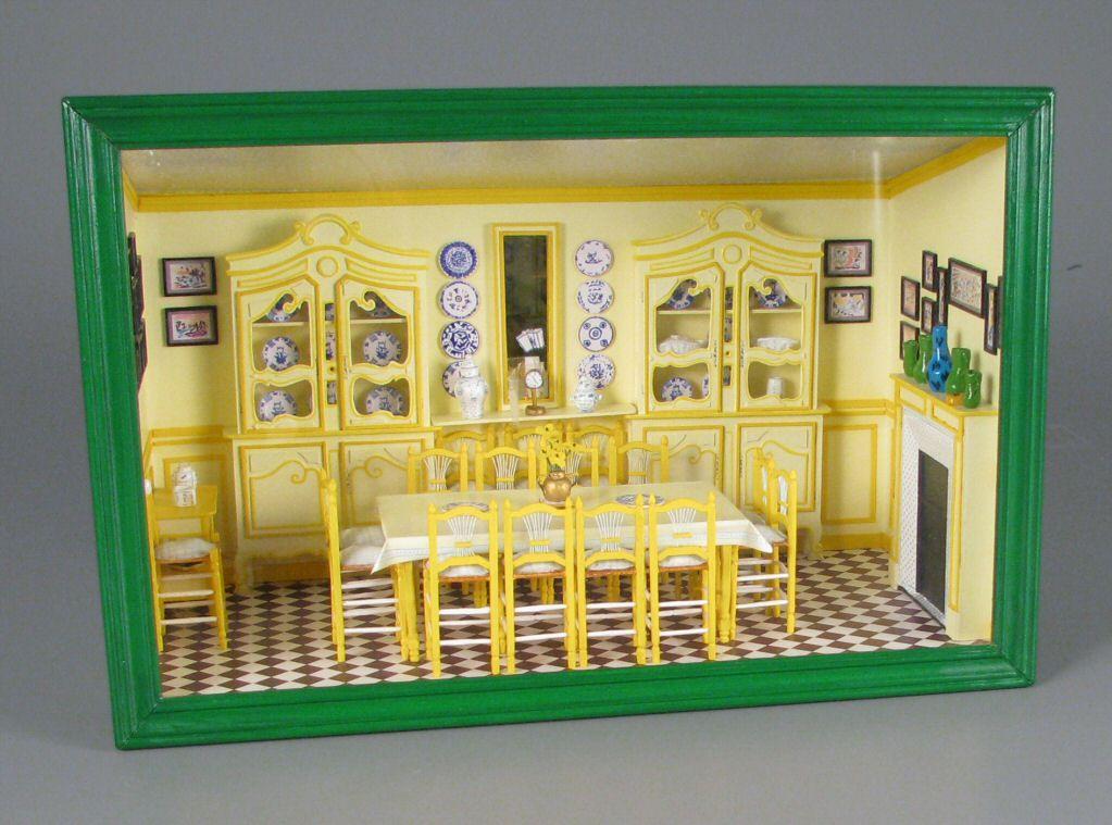 Monet Miniature Dollhouse Doll House Picture
