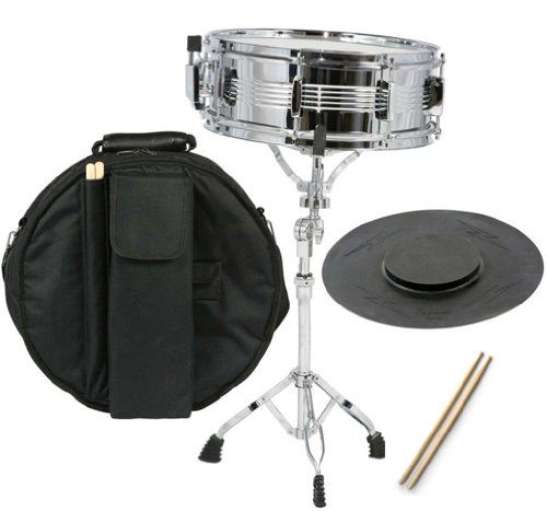 New Student Snare Drum Set With Case Sticks Stand And Practice Pad Kit Find Out More About The Great Product At The Image Li Snare Drum Drum Set Practice Pad