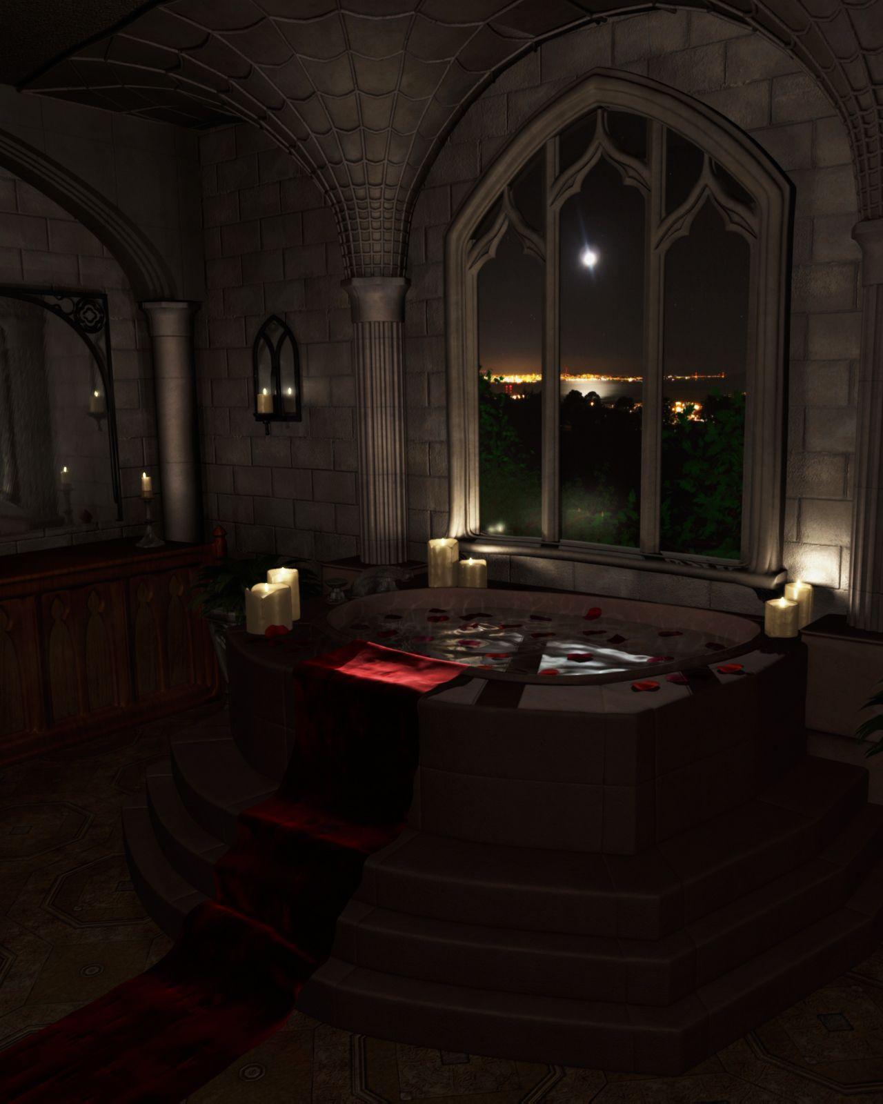 Die besten 25 gothic badezimmer dekor ideen auf pinterest gotik badezimmer grufti deko und - Gothic einrichtungsideen ...
