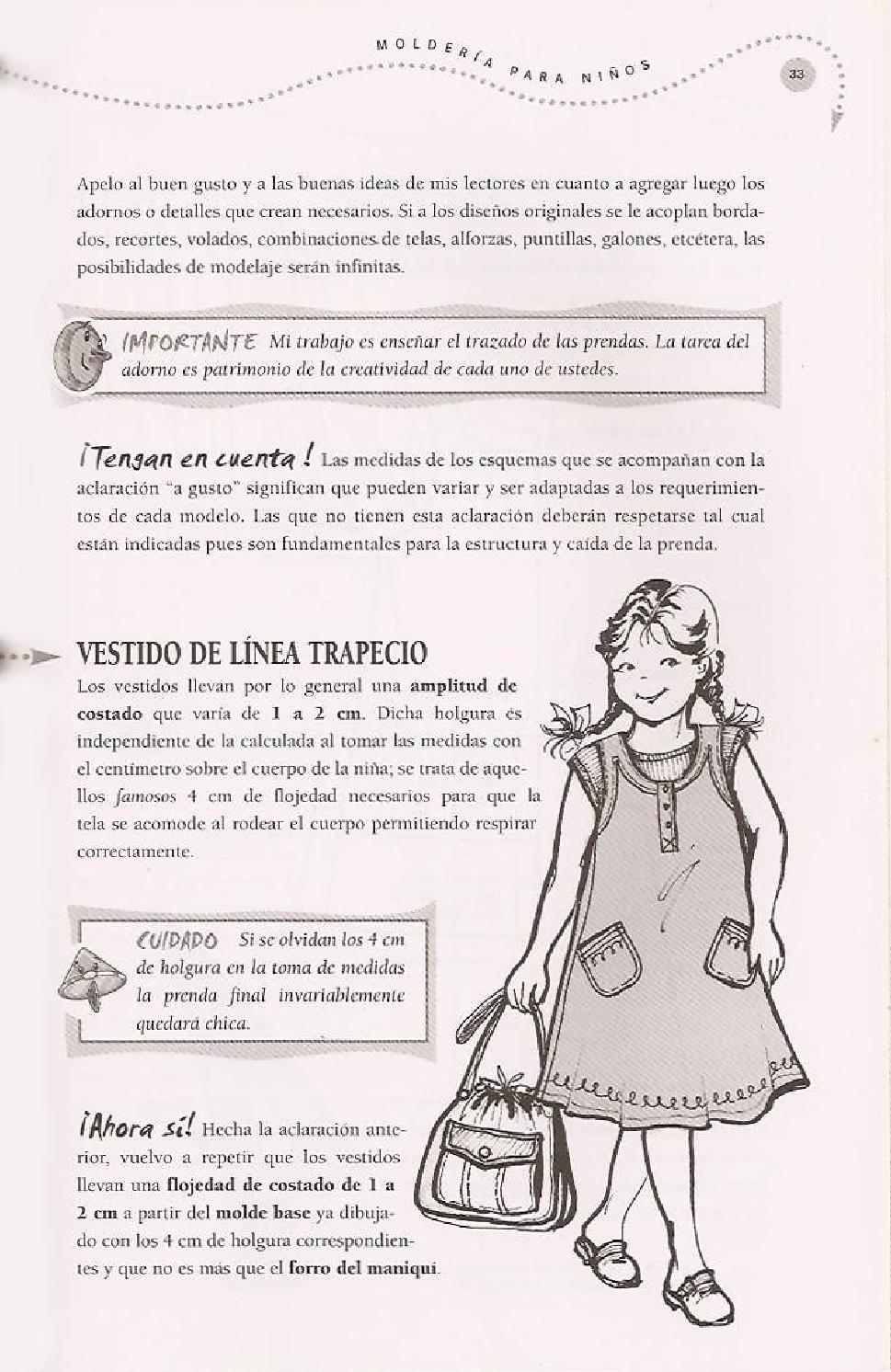 Hermosa Patrones De Costura Independiente Ilustración - Coser Ideas ...
