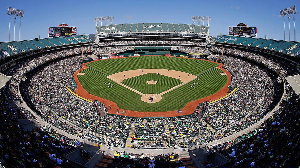 Oakland Coliseum Seat Map And Venue Information Oakland Coliseum Oakland Sports