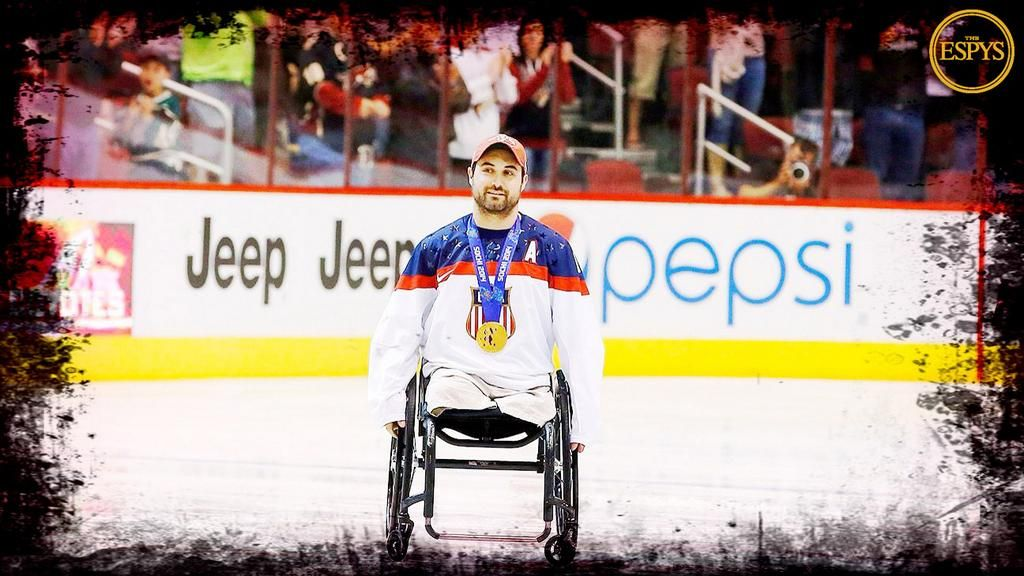 Josh Sweeney: Paralympic Hockey Star Gets ESPYs Pat Tillman Award (+Photos)