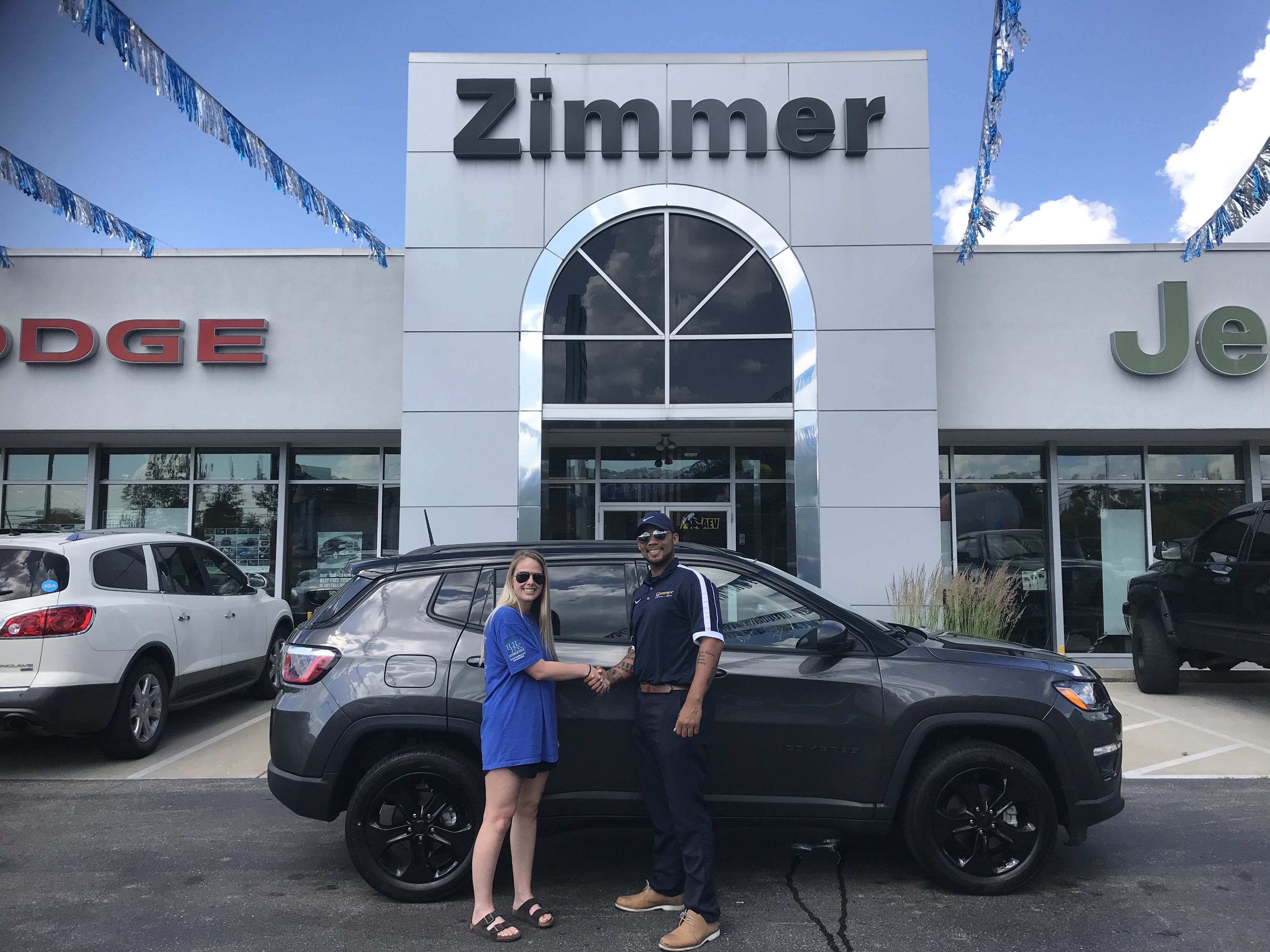 Hagen Smith is smiling big after buying her new 2018 Jeep