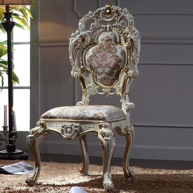 Wholesale Luxury Classic Baroque Chair Italian Solid Wood Frame Captivating Wholesale Dining Room Chairs Inspiration