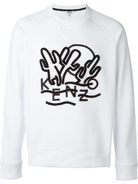 8edbaf72c KENZO 'Dancing Cactus' Sweatshirt. #kenzo #cloth #sweatshirt | Kenzo ...