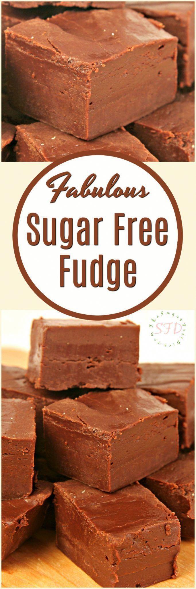 FABULOUS Sugar Free Fudge #fudge #sugarfree #holidays #desserts  #Chocolate  #yummy #popular #trending #pinterest #sugarfreedesserts