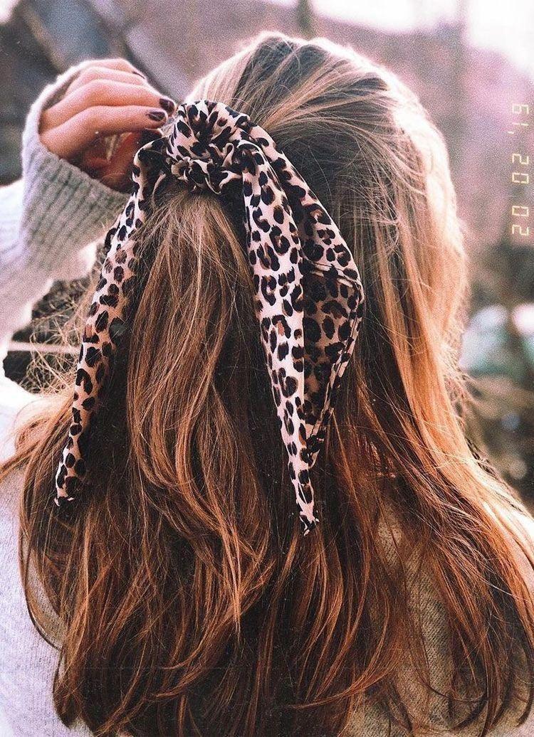 Trendy Scrunchie Scarves in 2020   Hair styles, Aesthetic ...