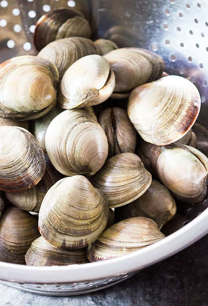 Buttery Garlic Steamed Clams Recipe In 2020 Steamed Clams Clams Garlic